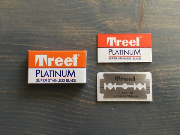 Treet Platinum Super Stainless Razor Blade Review