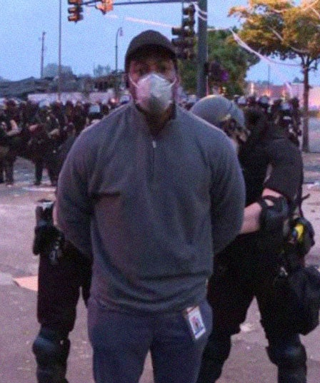 Omar Jimenez Was Arrested On Live TV