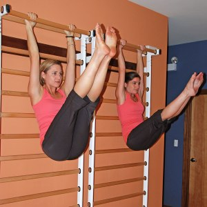 Independent Pilates excercise.