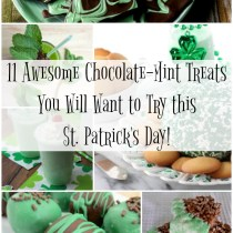 Chocolate Mint Treats