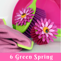Six Green Spring Cleaning Tips