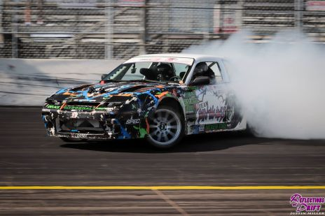 Drifting at Formula Drift 2018