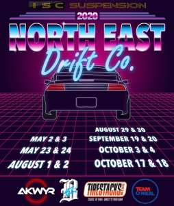 North East Drift Co. 2020 Drifting Schedule