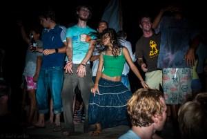 Full Moon Party on Ko Phangan, Thailand
