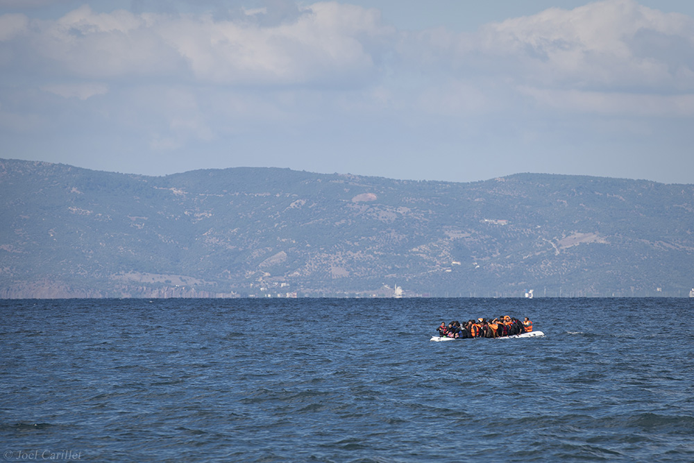 Lesbos refugee crisis