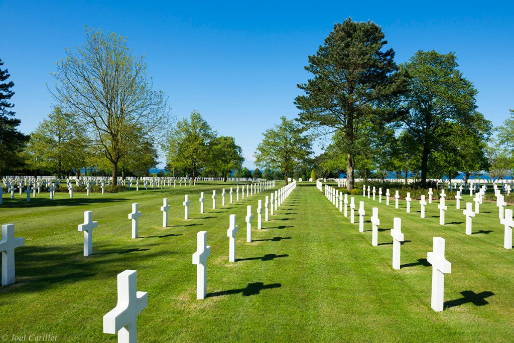 Normandy American Cemetery and Memorial in Colleville-sur-Mer