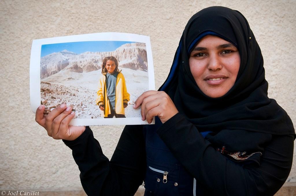 photo of girl in Luxor, Egypt