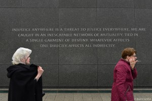 Quote at Martin Luther King Jr. Memorial in Washington DC