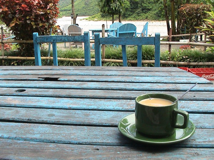 Cup of coffee in Nepal
