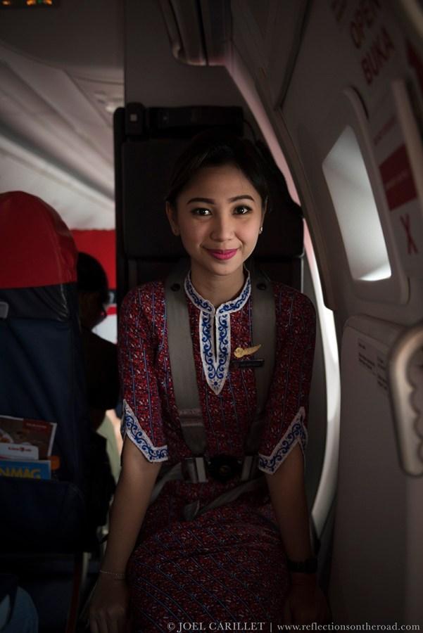 Lion Air flight attendant