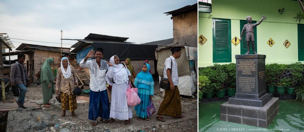 Jakarta, Indonesia, including Barack Obama's school