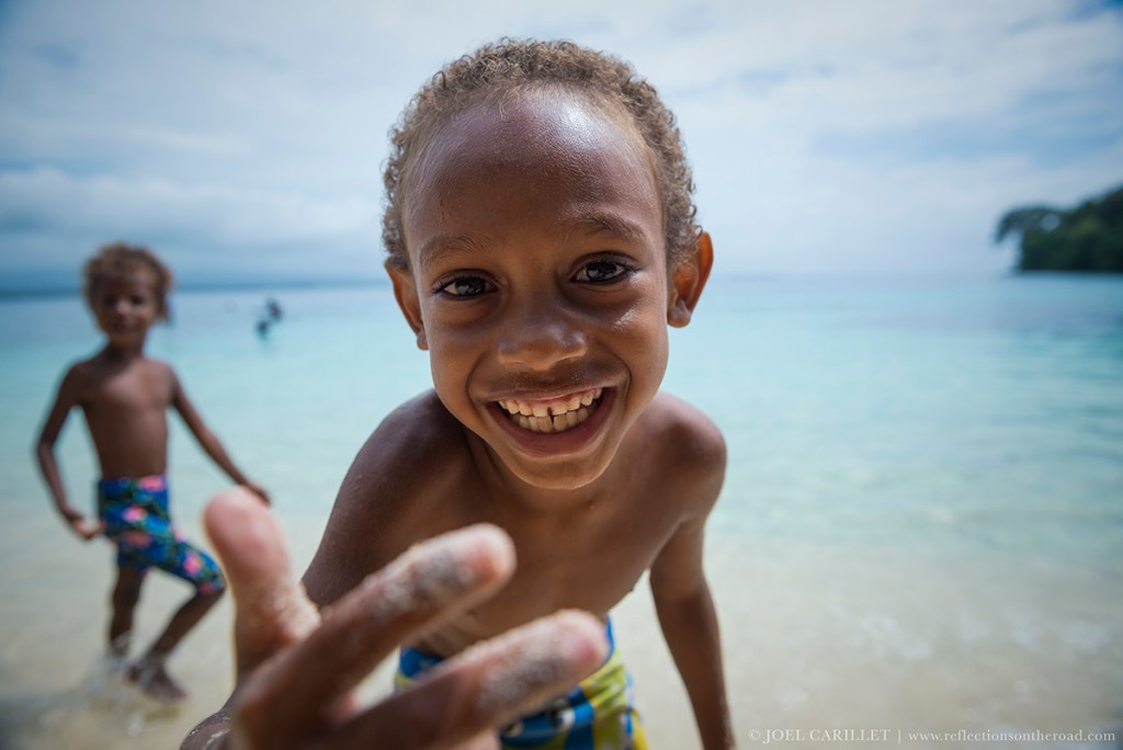 Childhood in Papua New Guinea's Madang Provice, Pig Island