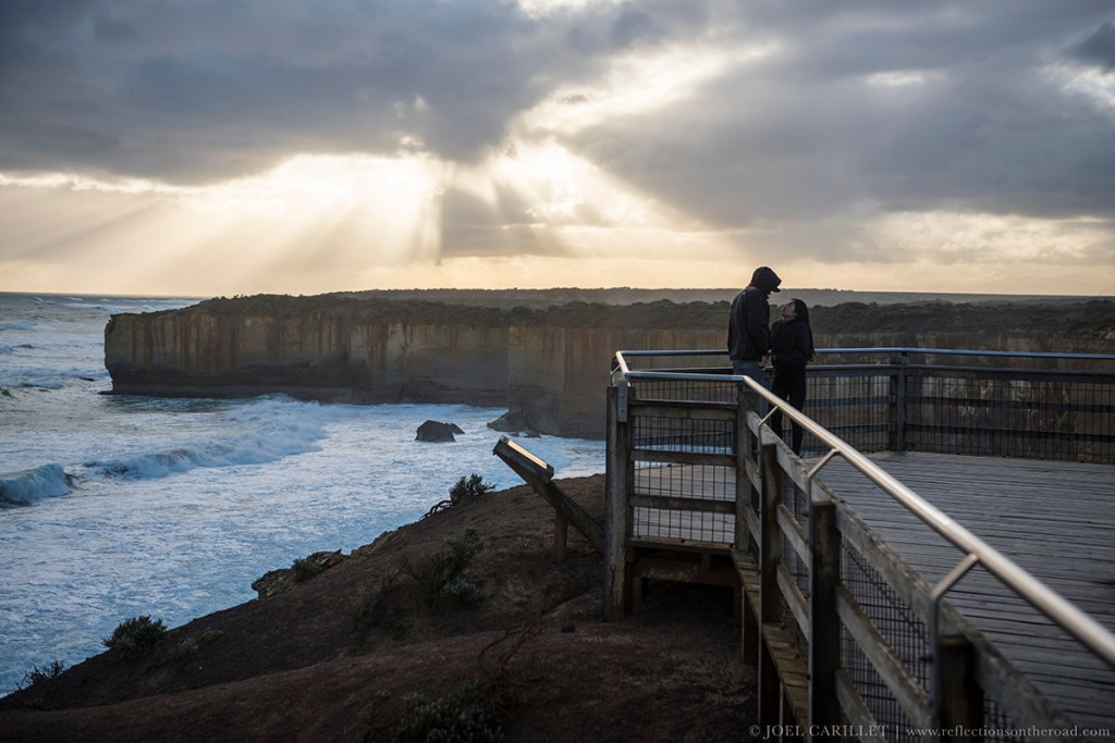London Bridge overlook, Great Ocean Road, Australia