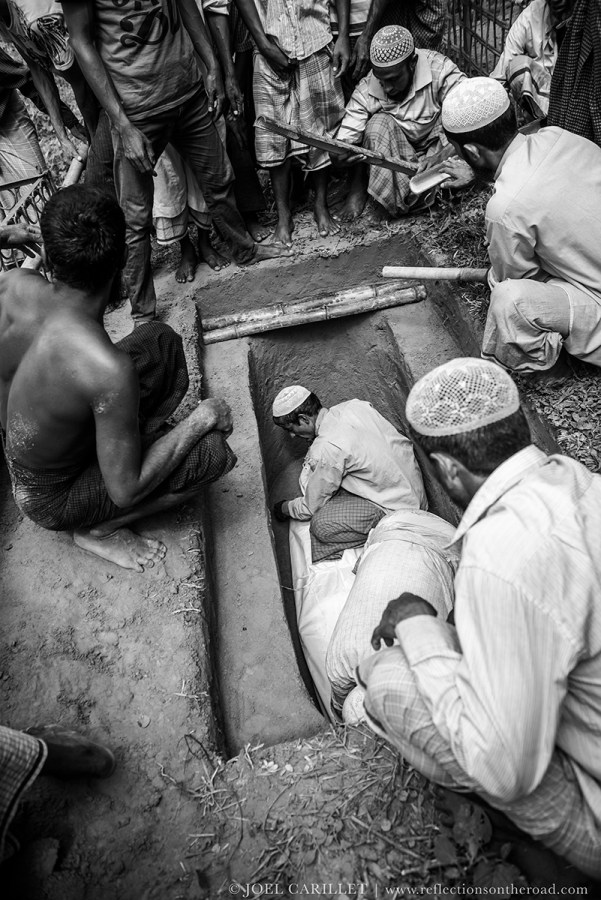 Rohingya refugees at Kutupalong refugee camp, Bangladesh
