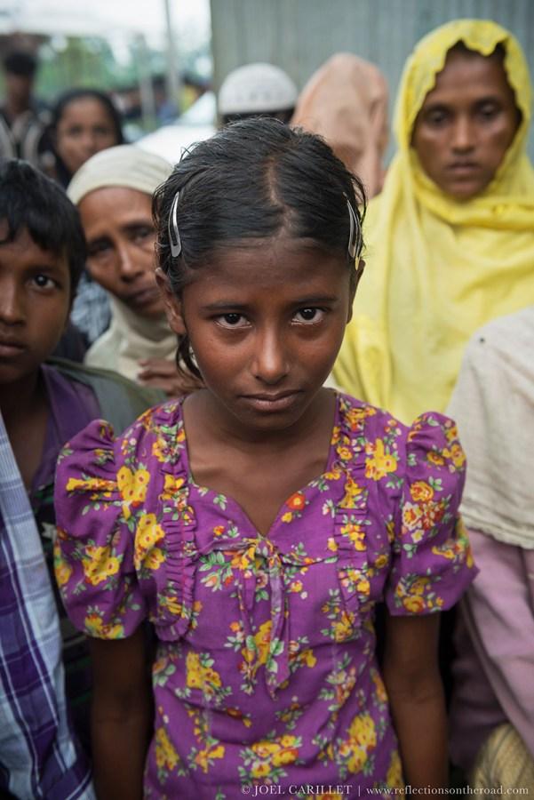 Rohingya girl in Bangladesh