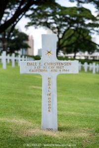 Grave of Dale E. Christensen, Medal of Honor receipient