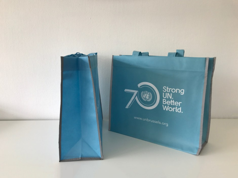 UN Releases Shopping Bag with Reflective Piping