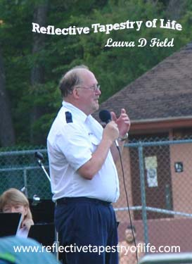 Philip K. Martin - Conductor 16July2013 at Rolfe Park, Penacook, NH