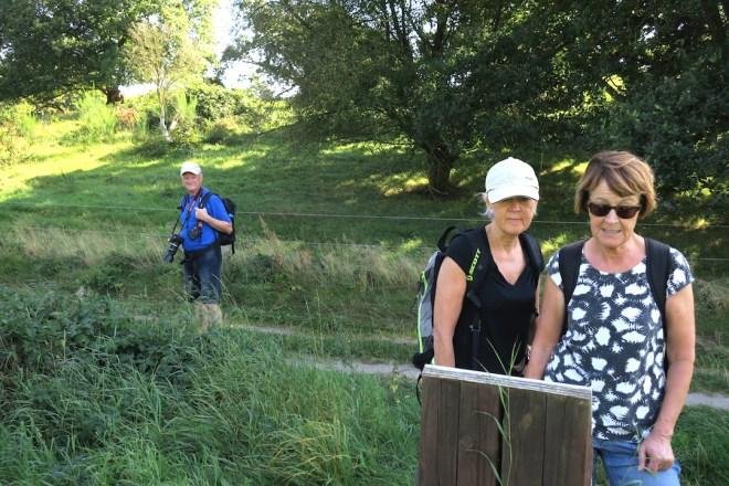 Vi tog turen sammen med vores gode venner Henny og Povl Anker. Dem har vi mange gode naturoplevelser med.