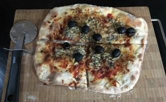 Tynde og sprøde pizzaer