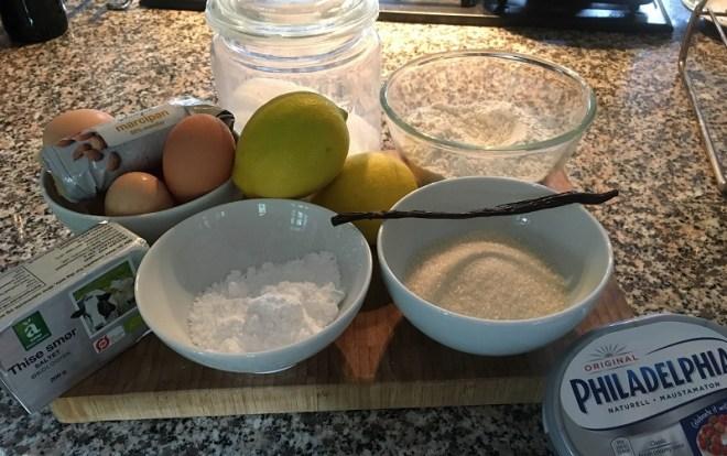 Citronmåne: ingredienser