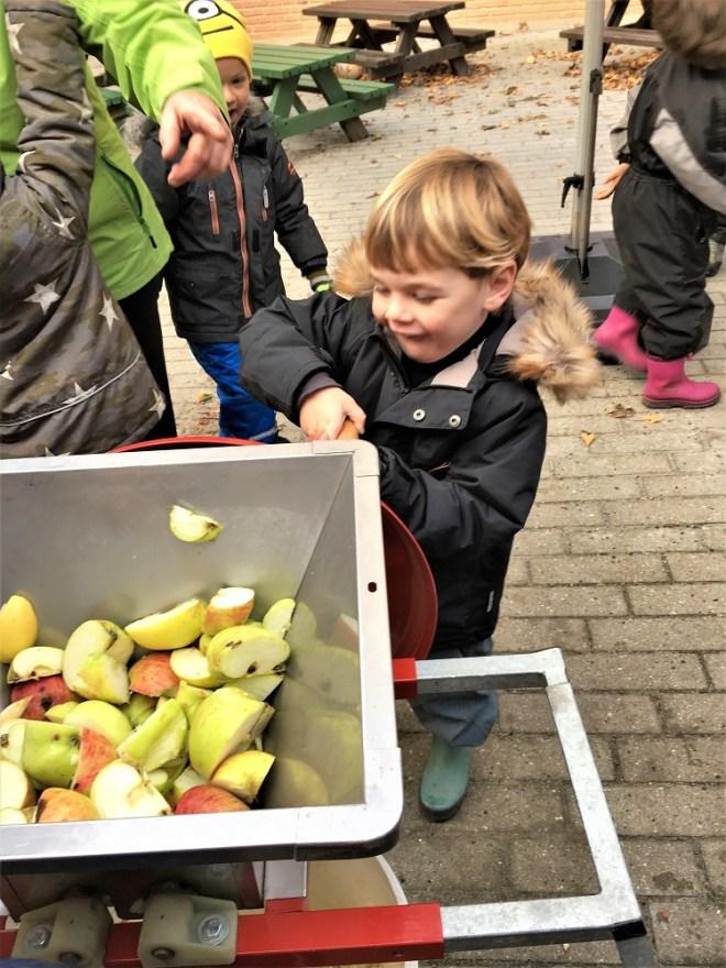 Håndlavet æblejuice