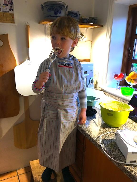 Osvald er aktiv i bagning