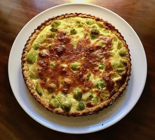 Rosenkål-tærte