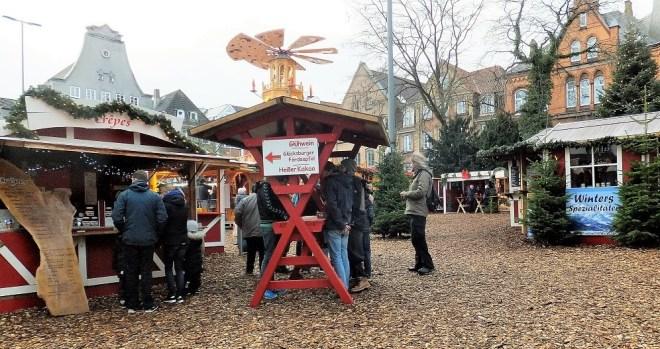Julemarked og masser af stemning