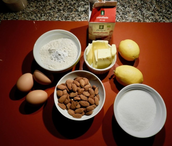 Toscakage - ingredienser