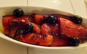 Tapa med rød peber