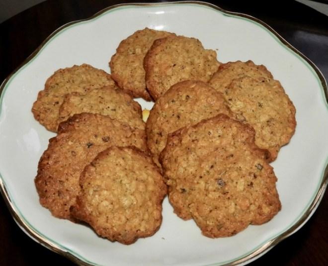 Cookies med chokolade-stykker