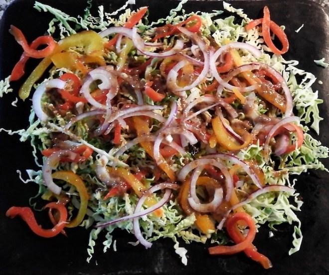 Salat af savoykål