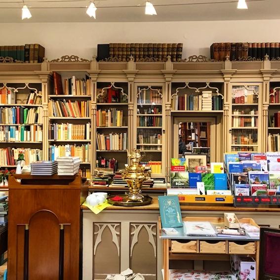 Der er også julemarked inde i boghandelen