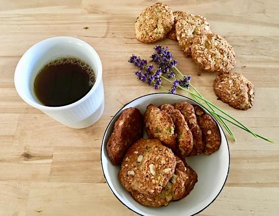 Amerikanske cookies med sqash