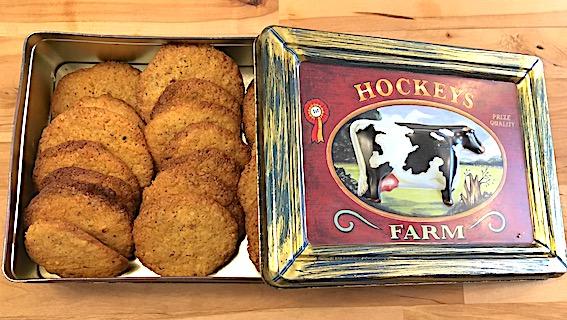 Ingefaer cookies med valnødder