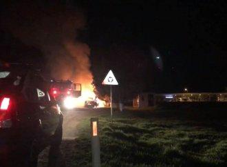 Un sistem de încălzire amplasat necorespunzător a cauzat un incendiu IMENS lângă Câmpeni