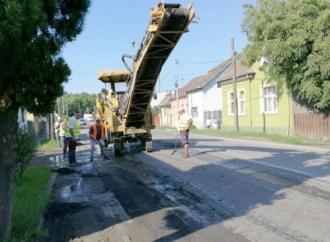 S.C. DOMENIUL PUBLIC TURDA S.A. anunţă începerea lucrărilor de asfaltare pe strada Aurel Vlaicu din Municipiul Turda