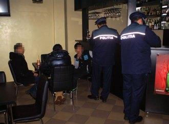 Elevii chiulangii au fost ridicați de poliție