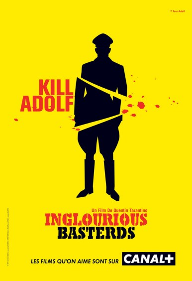 Canal + parodie affiche Inglorious Basterds