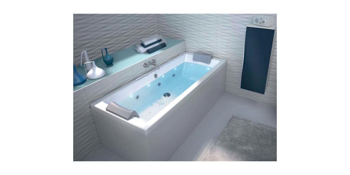 Baignoire Balneo Droite Maison Design