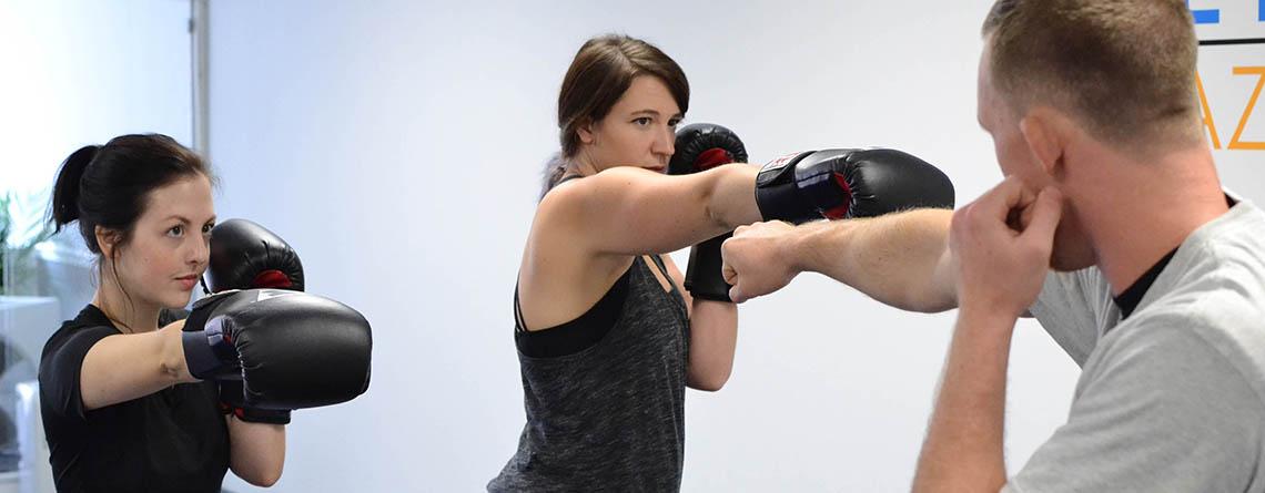 Kick boxing slider