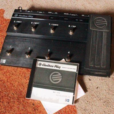 NI Guitar Rig 3 Kontrol