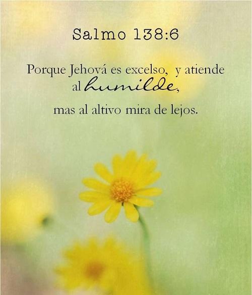 Salmos 138-6 - pensamiendo del dia