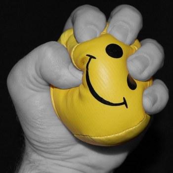 feeling stress ball