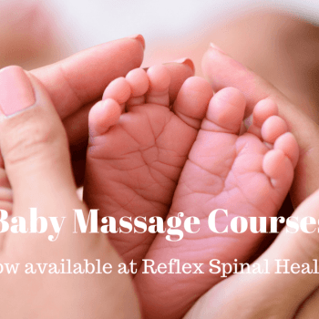Baby Massage Courses at Reflex Spinal Health Caversham Reading