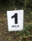 one mile to go