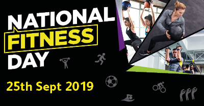 national fitness day 2019 at Reflex Spinal Health reading Berkshire