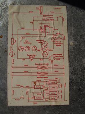TRUE GDM72F Wire Schematic  Refrigeration Mechanics