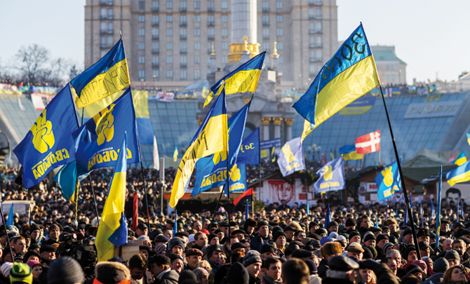 Ukraine: A country always on the edge